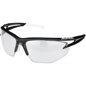 Alpina Eye-5 Shield VL+ Bril, black matt-white/black